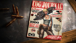 Anya Gears of War Mag Cover