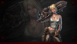 Anya Gears of War Wallpaper 2