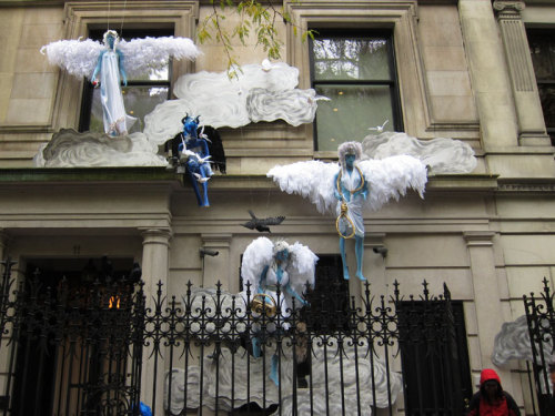 Halloween-ready on the Upper East Side