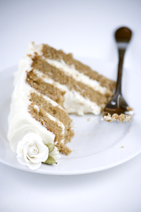 bakeddd:  chai cake with honey-ginger cream click here for recipe   Oh my goodness!! Sounds so good