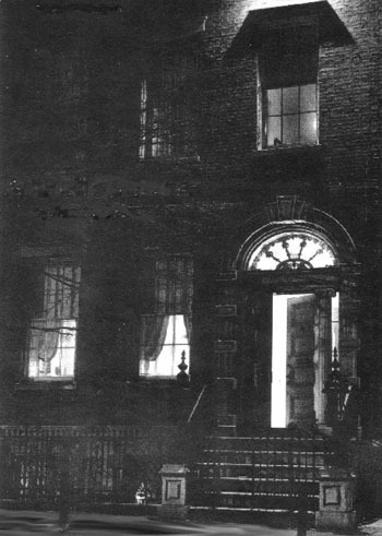 Halloween Events at Merchant's House Museum — ''Manhattan's Most Haunted House'' Candlelight Ghost Tours of 'Manhattan's Most Haunted House' Thursday–Saturday, October 27-29, 6-9:30 p.m. From Parlor to Grave: 1865 Funeral ReenactmentThe parlors will be draped in black crape as we recreate the  1865 funeral of Seabury Tredwell. After the service, mourners are  invited to follow the coffin to nearby New York City Marble Cemetery – rarely open to the public – for a tour. 19th-century mourning attire encouraged; black crape armbands will be provided. Sunday, October 30, 3 to 5 p.m. Spine Tingling and True: Ghost Stories of the Merchant's House Museum selections from 19th-century horror classics, and tell  of the many strange and supernatural occurrences at the Merchant's House  Museum – in a parlor arranged for a mid-19th century funeral. Monday, October 31, 7 & 8:30 p.m.