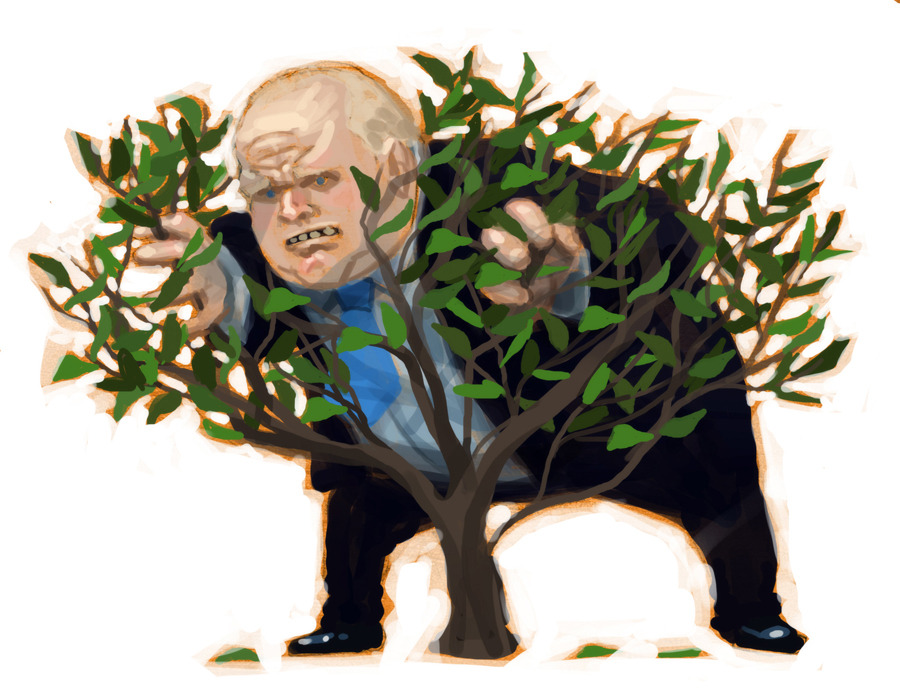 Illustration by Steve Murray. Rob Ford has had a very bad few days, leaving us all with the question What the #!%* did Rob Ford say to the 911 operator?