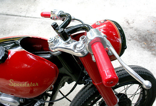 SOLD'69 Honda CB350 - The Speedster