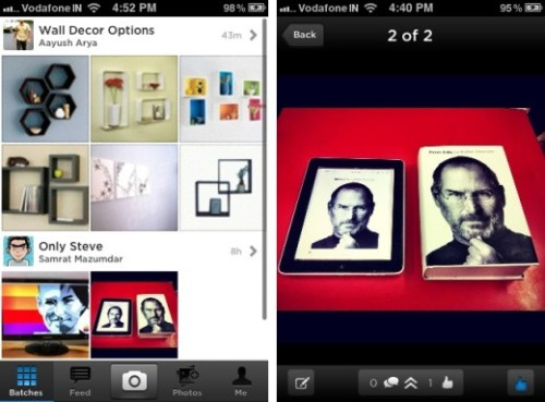 Batch, a free and slick-looking iPhone app from the founders of Daily Booth aims to do one thing: help you upload a bunch of photos to the Internet and share them with your friends. As it turns out, it does this quite well, but there are things we'd like to see improved. (via Batch for iPhone is a gorgeous app that lets you share a ton of photos)