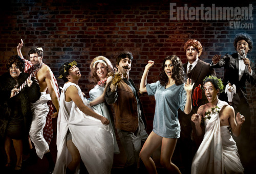 'Community' pays tribute to 'Animal House' for EW's Comedy Issue | EW.com