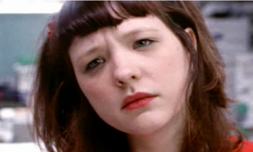 saltyfree:  A screencap of Mary Timony looking earnest and beautiful in Dream Machine.
