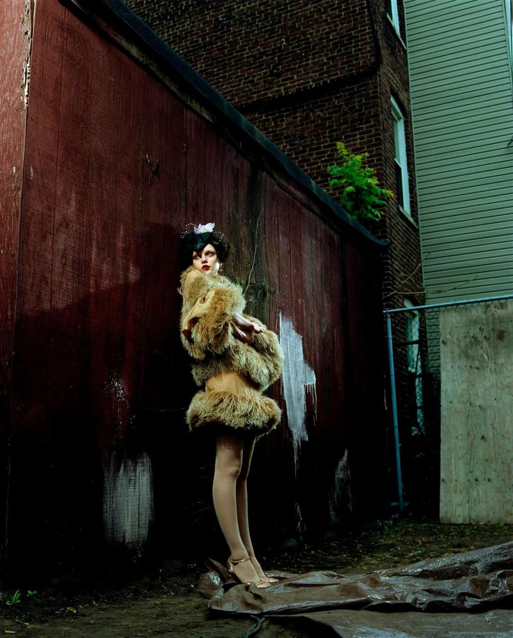 Melancholy BabyVogue Italia, July 2003 Photographer: Steven Meisel  Model: Jessica Stam