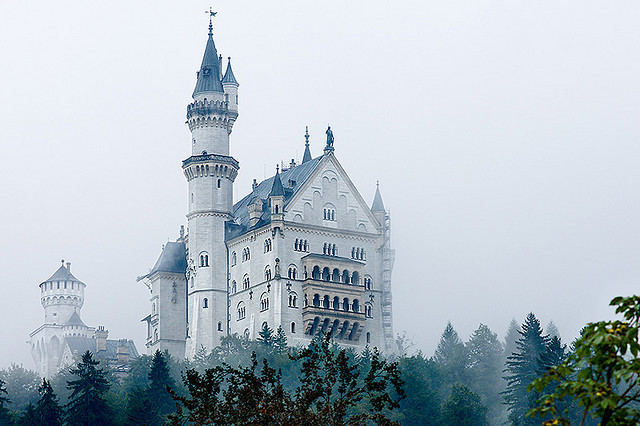 Neuschwanstein by ivan.pertica on Flickr.