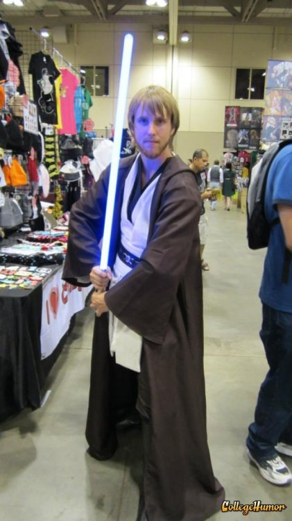 Jedi Ladies, his midichlorians are through the roof.