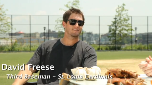 Baseball Talk with David Freese and Jon Jay We hung out with David Freese and Jon Jay to ask them about the biggest questions in baseball.