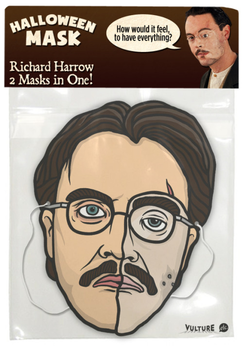 Richard Harrow double-mask