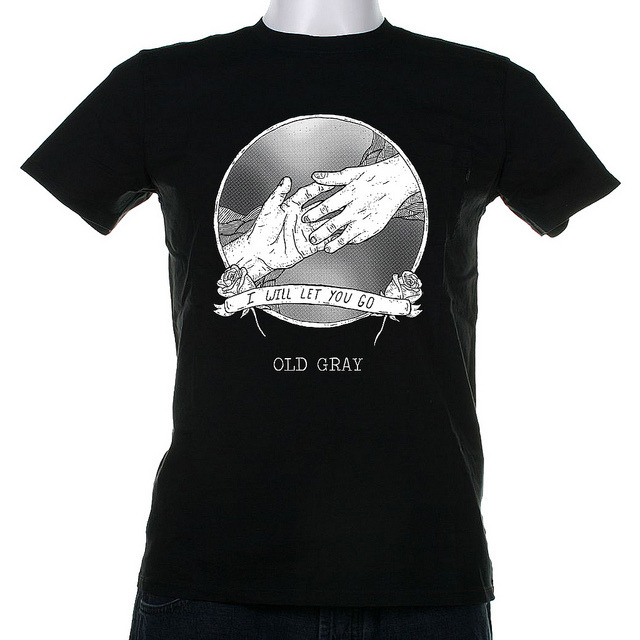 NEW OLD GRAY T-SHIRT UP FOR PREORDER! We'll have preorders up for about a week and, provided we get enough orders, will print these shortly after! ORDER