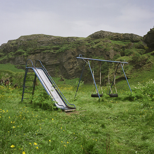 Iceland 01: Slide & Swing Set (by josephx)