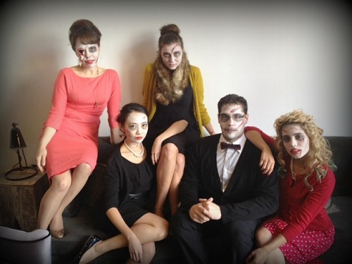 Zombie Family nubiasnonsense:  The IFB Madmen Zombies ;-) #halloween #brainssss