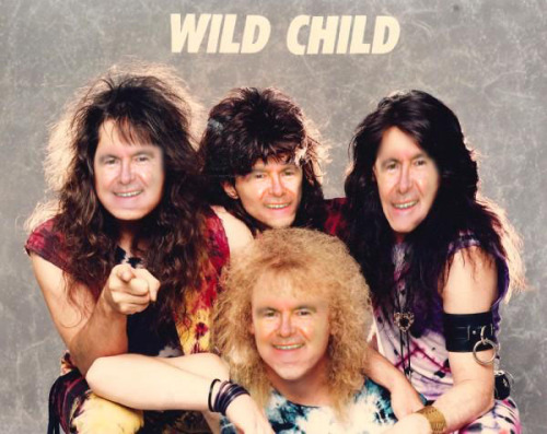 Newt's Hair Metal Days