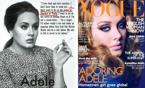 nervemedia:  Silly.  *British Vogue* Does that make a difference? Anyone? Bueller?