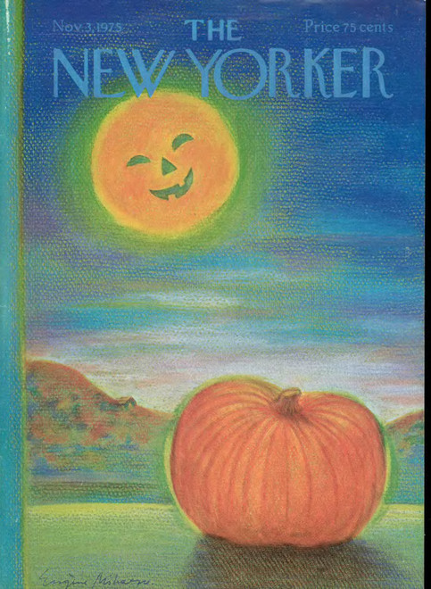 newyorker:  Our 1975 Halloween cover.