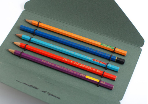 This is so amazing. free-man:  Antica Cartotecnica Vintage Pencils