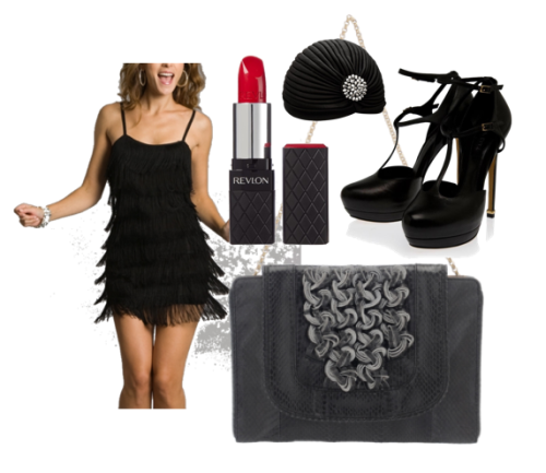 Dress like a flapper this Halloween with our Isabel Envelope Clutch!