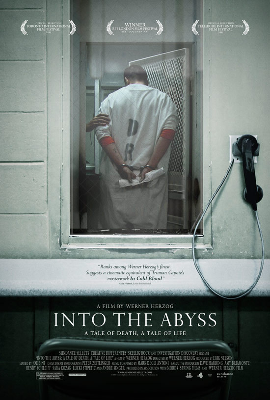 Into The Abyss by Werner Herzog. It's released on 11th of November.