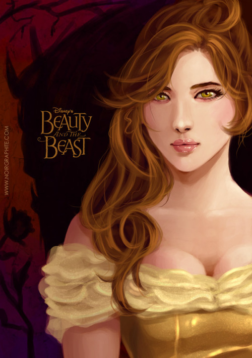This is gorgeous Belle art.