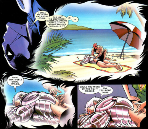 Remember that erotic dream Deadpool had about Cable? Of course you do; once seen, this cannot be unseen.