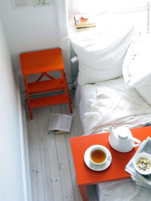 (via Trend: Orange | Redaktionen | Inspiration från IKEA)