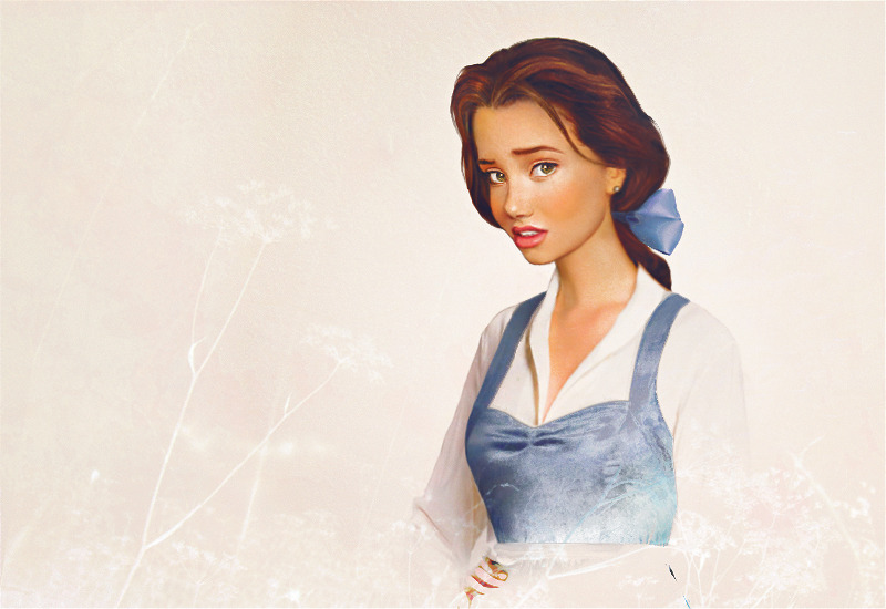 I always thought Belle was the prettiest Disney princess. This is an amazing rendition of Belle by Jirka Vinse Jonatan Väätäinen. Click on the name to see more work, including more Disney princesses!