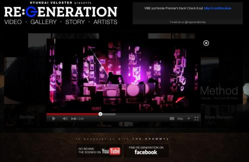 Hyundai in association with The GRAMMYs present RE:GENERATION Music Project; Five DJ's turn the tables on the history of music. Listen now: http://grm.my/mUTqHk