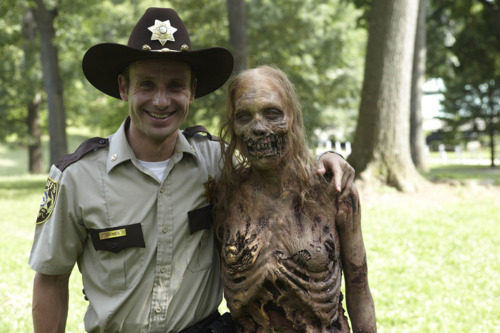 timedump:  The Walking Dead- on set photo