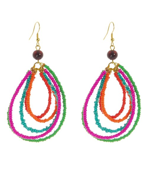 Color-power boho earrings. I found these earrings at fashion-conscience.com. They're called: Fair Trade Beaded Hoop Earrings. And they are so lovely. Easy to make, too. Here are more boho jewelery beauties, mostly handmade…  These earrings are by fellow Tumblr jewelery-maker, Bohemia Jewellery. Aren't they gorgeous? Love'em. Handmade! Check this out!  This is a Bohemian hippie friendship bracelet over at Etsy's One of a Kind Jewelry Design (OOAKjewel)  ϪϪϪϪϪϪϪϪϪϪϪϪϪϪϪϪϪϪϪϪϪϪϪϪϪϪϪϪϪϪϪϪϪϪϪϪϪϪϪϪ  I did mention before (here and on my other blog), my love for Pom Poms, and how delighted I was seeing this pom pom hippie bracelet, also by the above-mentioned Etsy creator.  ϪϪϪϪϪϪϪϪϪϪϪϪϪϪϪϪϪϪϪϪϪϪϪϪϪϪϪϪϪϪϪϪϪϪϪϪϪϪϪϪ  ϪϪϪϪϪϪϪϪϪϪϪϪϪϪϪϪϪϪϪϪϪϪϪϪϪϪϪϪϪϪϪϪϪϪϪϪϪϪϪϪ   Source: thevitrine.com via Karboojeh on Pinterest  The woven rope bracelet above is from an online shop called The Vitrine. They feature the products & creations of several handmade artists.  I love the blending of woven rope & chain (below). Then there's the tassel, a beloved jewelery element of mine. Nice design. —————————————  Source (L): thevitrine.com via Karboojeh on Pinterest    ————————————-  The tassel earrings are quite boho-chic, made out of twisted bamboo thread and suede strings.    Source (Pic above - Right): thevitrine.com via Karboojeh on Pinterest