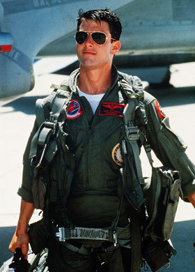 "I always felt like I was more of a Maverick than an Iceman.  ""You live your life between your legs"""