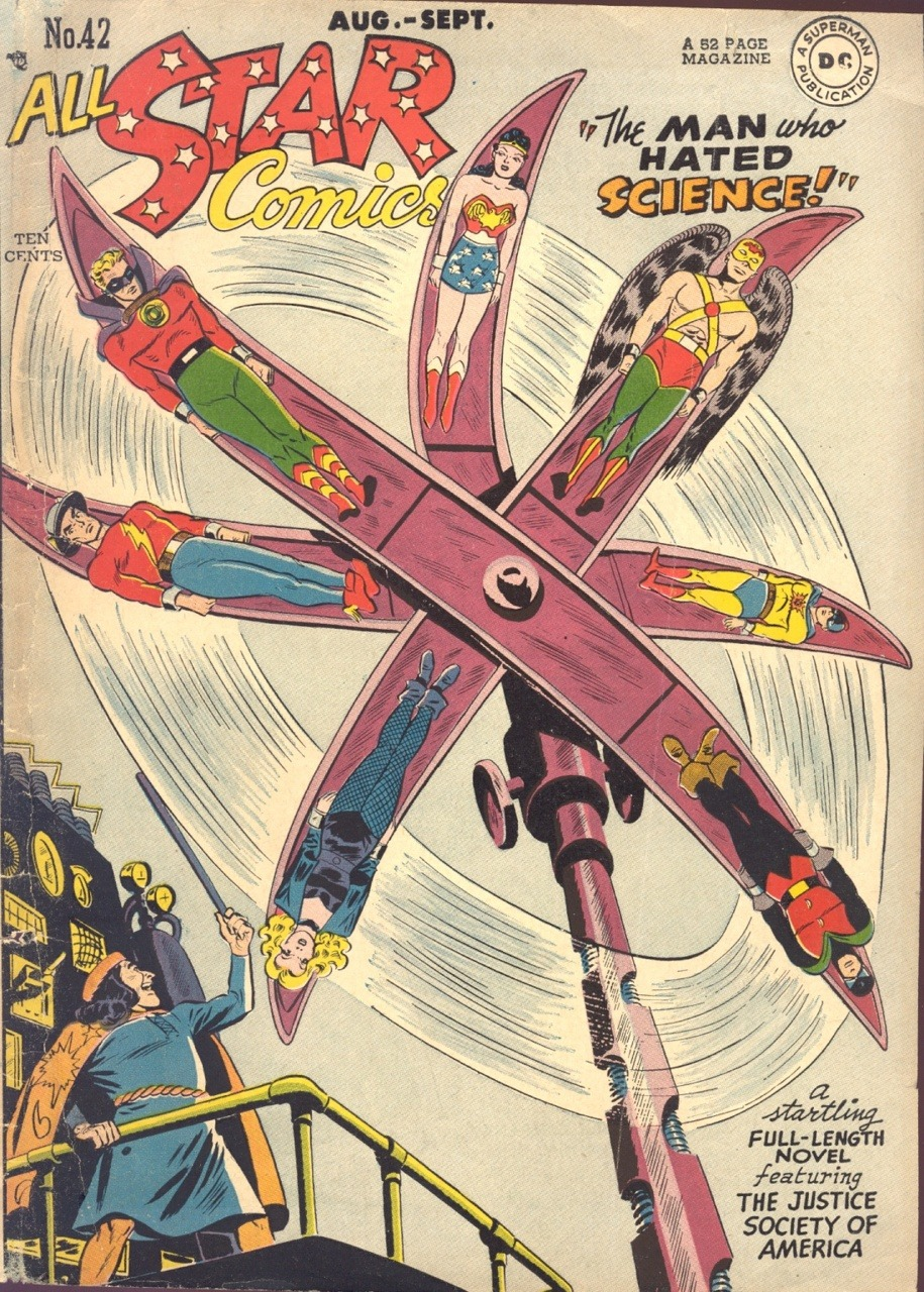 comicbookcovers: All-Star Comics #42, September 1948