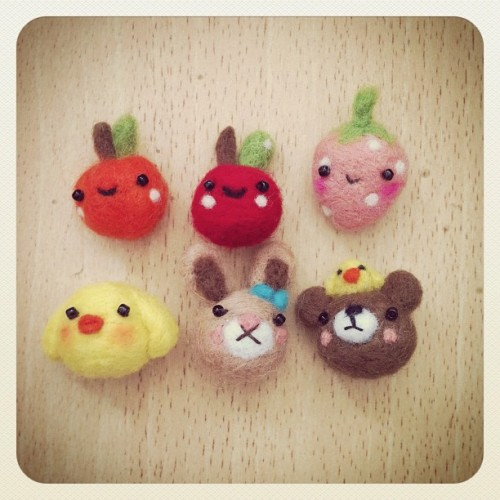 pumuq:  #Needlefelt jaaaa #pumdoit #handmade (Taken with instagram)