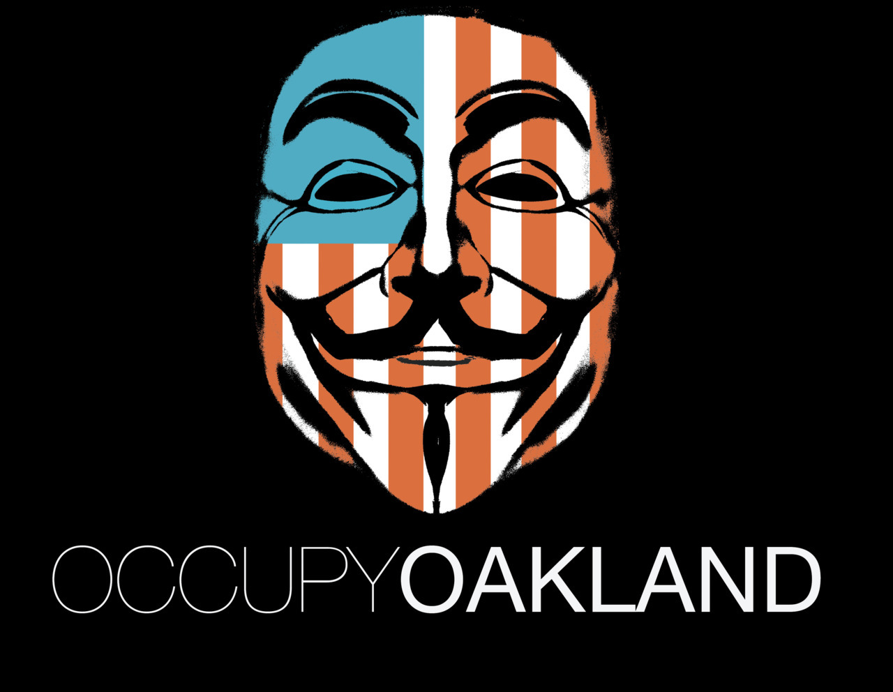 All is peaceful and positive tonight at Occupy Oakland