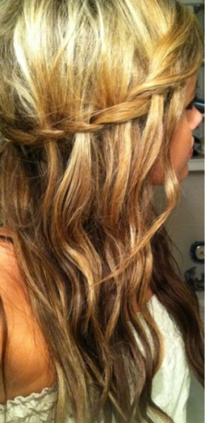 Pretty braid…I like!