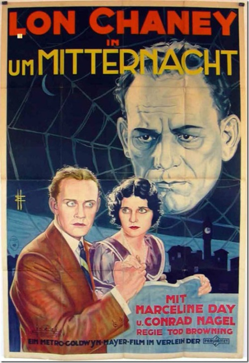 the-asphalt-jungle:  London After Midnight (1927) German poster