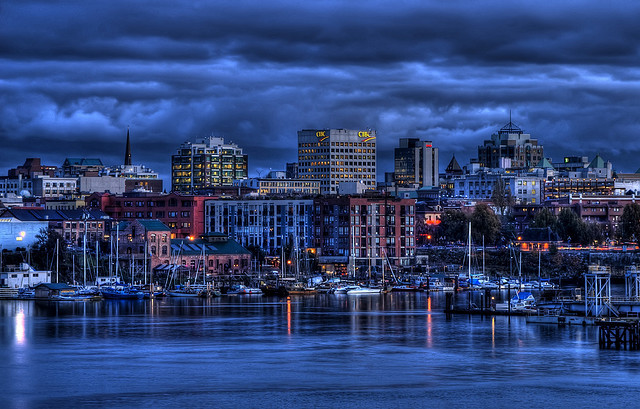 Victoria's Skyline (HDR) by Brandon Godfrey on Flickr.