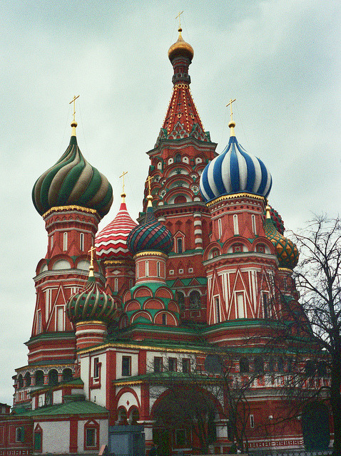 St Basil's Cathedral on Flickr. Moscow
