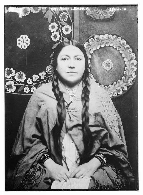 coolchicksfromhistory:  Marie Bottineau Baldwin (1863-1952) was a Chippewa attorney.  Marie was the first Native American student and first woman of color to graduate from the Washington College of Law. Today the Women's Law Association at her alma mater funds a scholarship in her name.   Following law school, Marie worked for the Bureau of Indian Affairs and was treasurer the Society of American Indians.