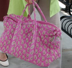 RIP Vera Bradley Satchel, we hardly knew you.