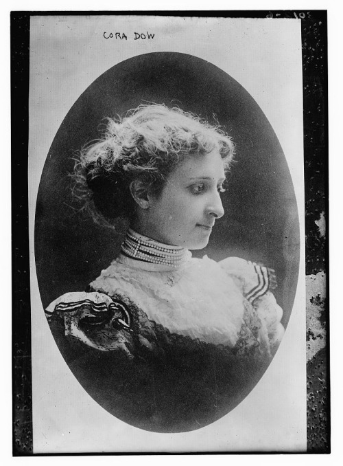 Cora Dow (1868-1915) was a pioneering pharmacist who created a chain of successful drugstores.  The second woman to qualify as a pharmacist in the US, Cora transformed her father's run down shop into a successful chain by implementing cut rate prices, developing quality store brands and maintaining a high level of customer service.   Despite her successful career, Cora was anti-suffrage and claimed that she would have been happier as a housewife.  Yet Cora was such a well known business woman during her lifetime that former president William Howard Taft eulogized her. A detailed article describing Cora's life and her business practices can be found here.