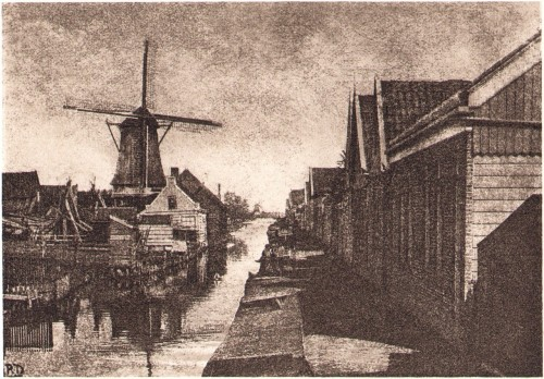 Zaandam, 1896 by Robert Demachy
