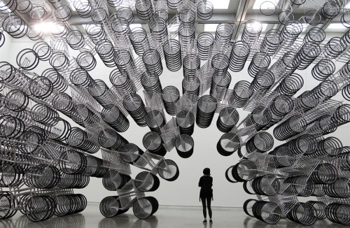 remash:  forever bicycles ~ ai weiwei