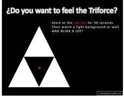 Feel the Triforce by freemindsco