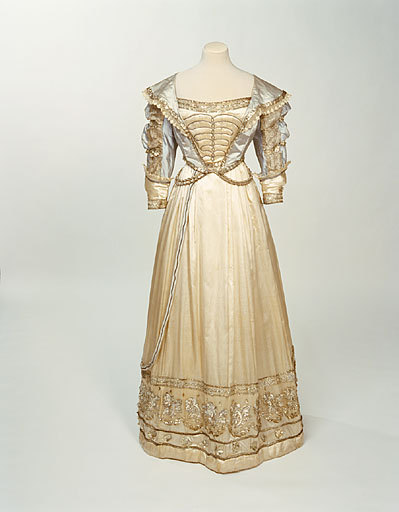An extremely rare extant fancy dress costume dating to circa 1826.