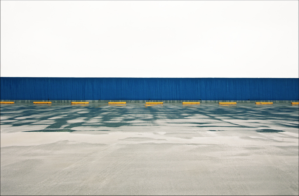 "Parking Structure. 40""x30"", framed, limited edition of 5 (3   remaining). Contact me directly, or contact DRKRM gallery in Los Angeles   (http://www.drkrm.com/)"