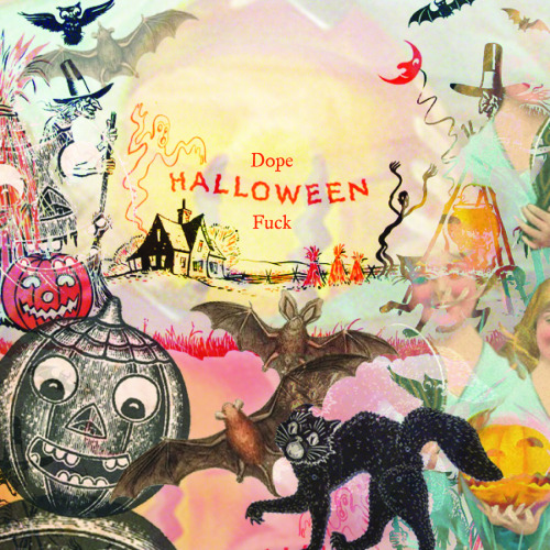 crashsymbols:   Here it is! Crash Symbols' newest compilation, Dope Halloween Fuck. Halloween is my favorite holiday, so I was super excited to put together this delicious treat (and the album art) for y'all. All of the bands that contributed did an amazing job, and I think all of the tracks work really well together to create the perfect atmosphere — whether it's a pleasant autumn moment, the anticipation of getting ready to go trick-or-treating when you were a kid, or getting psyched for a creepy-fun time at a party. The compilation features a ton of unreleased songs (from The New Lines, Bone Quida Ida, Daniel Sex Jr., Nomadic Firs, and more), as well as the first track from boy crush (Sean Posila ofHigh Pop fame). The Electric Nature/Pop Culture Shamantrack even samples Twin Peaks. Put this mix on while you're putting on your facepaint and enjoy. Here's to Halloween! Karma Vision - Teeter Totter  Bone Quida Ida - The Witches  boy crush - Lizzy Locke  Field Dress - Easy Shade (Shadow Mix)  The New Lines - The Phylactery of a Spring Street Malcontent  Nomadic Firs - In The Morning Red Hook - Lavender Punch Colored Girls - The Third Policeman Rabbit Punch - Watch The Elbow Daniel Sex Jr. - Prowl Goat Lightning - I Am Blue The Electric Nature with Pop Culture Shaman - Shut Yr Eyes and You'll Burst Into Flames  MP3 ::  Daniel Sex Jr. - Prowl Nomadic Firs - In The Morning Please download the whole shebang right HERE! -Liz  ^ I put together this Halloween compilation for Crash Symbols. You should check it out! It's freeee.