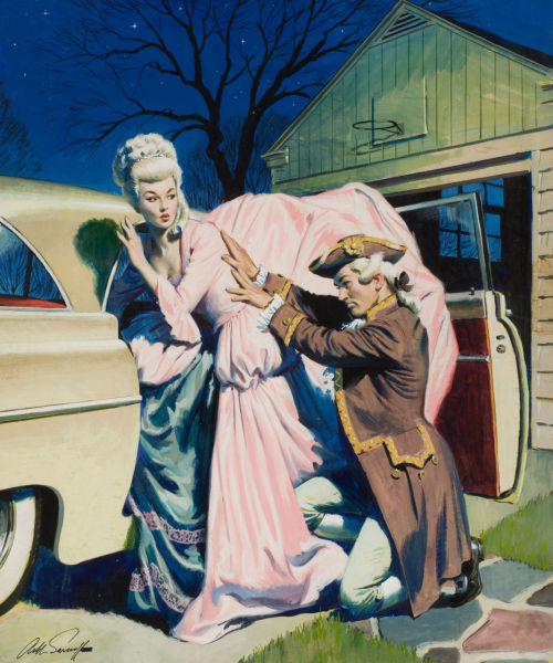 vintagegal:  Doesn't Fit c. by Arthur Saron Sarnoff 1950's