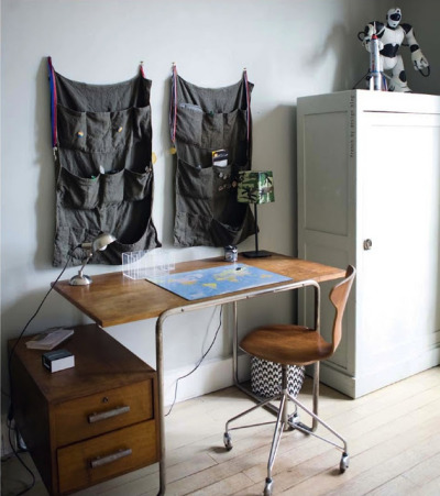 (via simple teen desk area (morning's light))